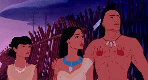 *NAKOMA, POCAHONTAS & KOCOUM (her betrohed) ~ Pocahontas, 1995