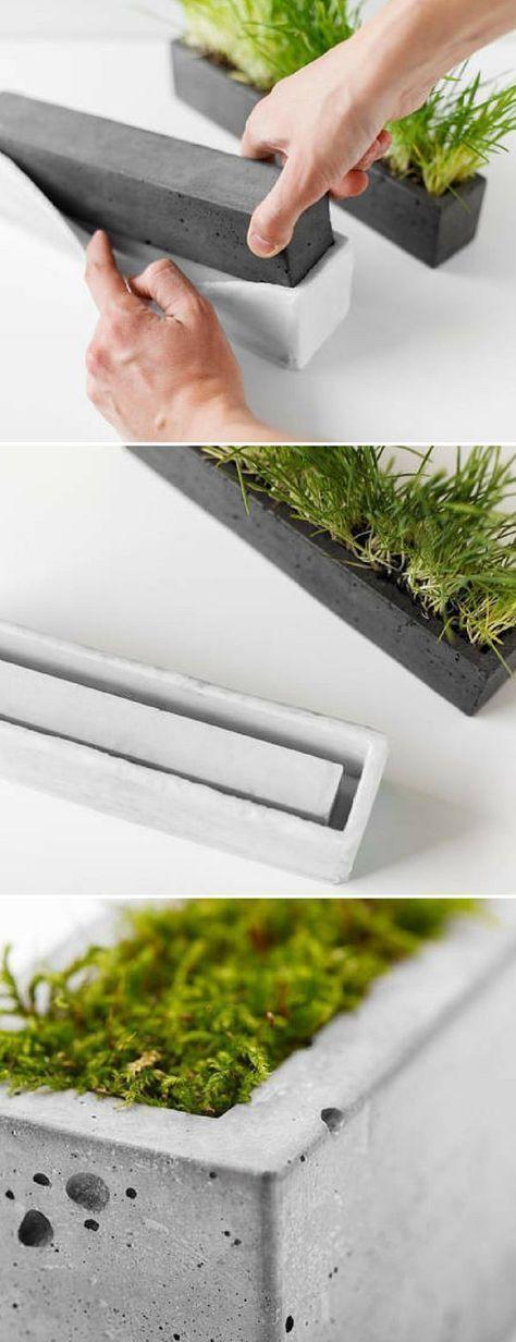 46 DIY Concrete Ideas For A Chic Minimal Design