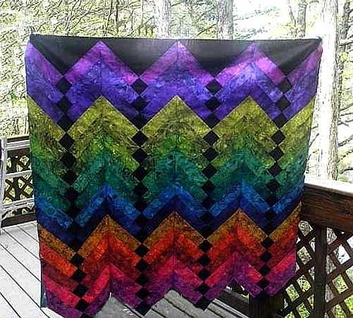 97 Best Images About Jeweltone Quilts On Pinterest Batik