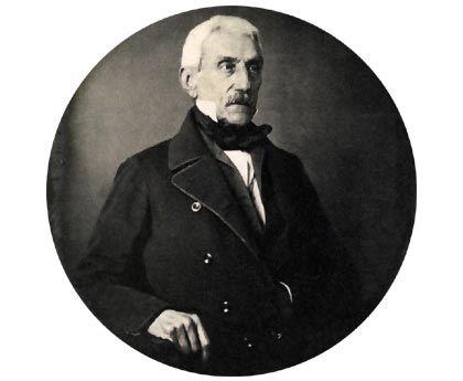 Biografia de José de San Martín  José de San Martín en una imagen de 1848