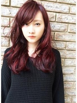 2015秋のヘアカラーはレッド系カラーに決まりっ★の8枚目の写真
