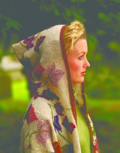 Sasha Kagan's Ivy Leaf coat http://www.sashakagan.co.uk/designs/coatjack_01.html