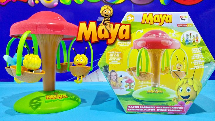 Maya The Bee Playset Carrousel By IMC Toys Video ★ La Abeja Maya Juguete...