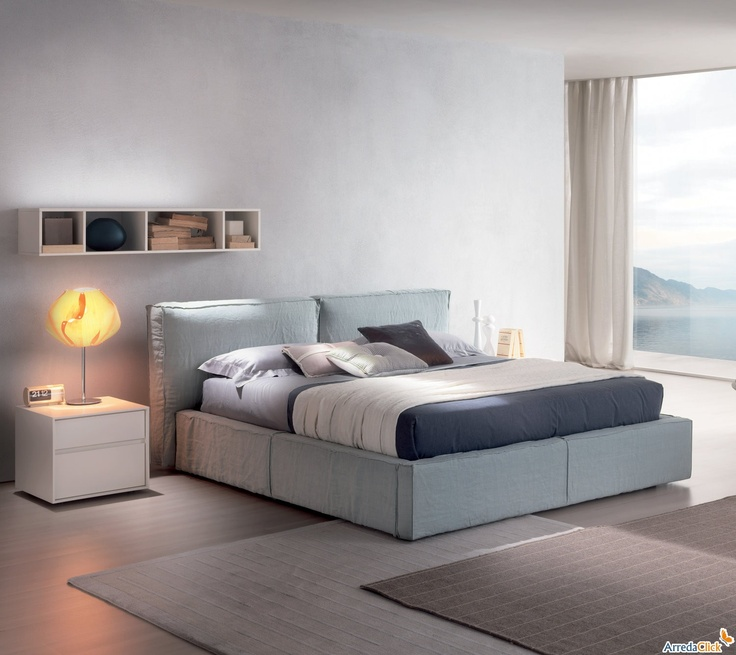 8 best collezione letti d sign images on pinterest - Letto imbottito ikea ...