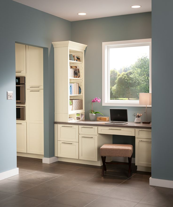 Sealing Painted Kitchen Cabinets: Shenandoah Cabinetry Painted Silk, Breckenridge Door
