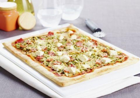 Tarte fine courgettes jambon feta | Croquons La Vie - Nestlé