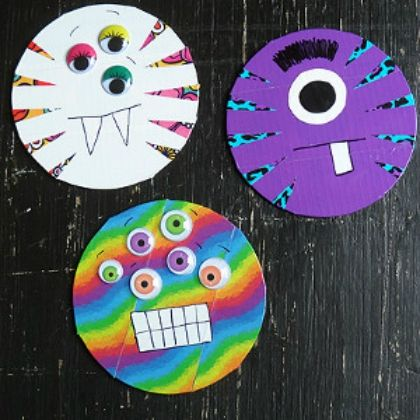 cd duct tape monsters