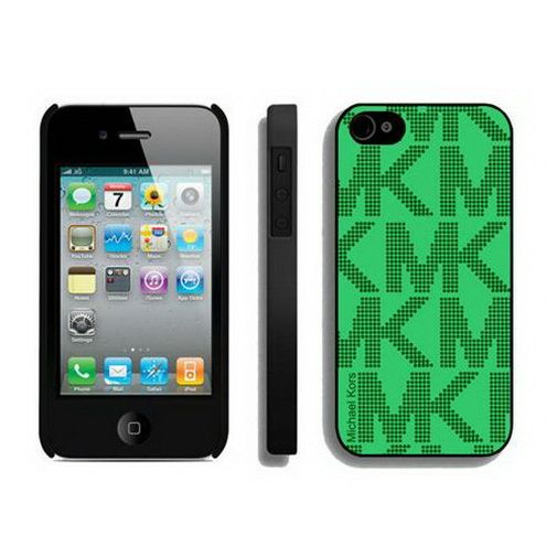 Low Cost Michael Kors Big Logo Signature Green IPhone 4 Cases1 Sales Online Save Up To 90 Off On The Lookout For Limited Offer No Duty And Free Shipping