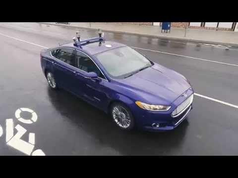 #Ford  prueba #vehículos  autónomos en un entorno urbano simulado   TyN Internet of Things