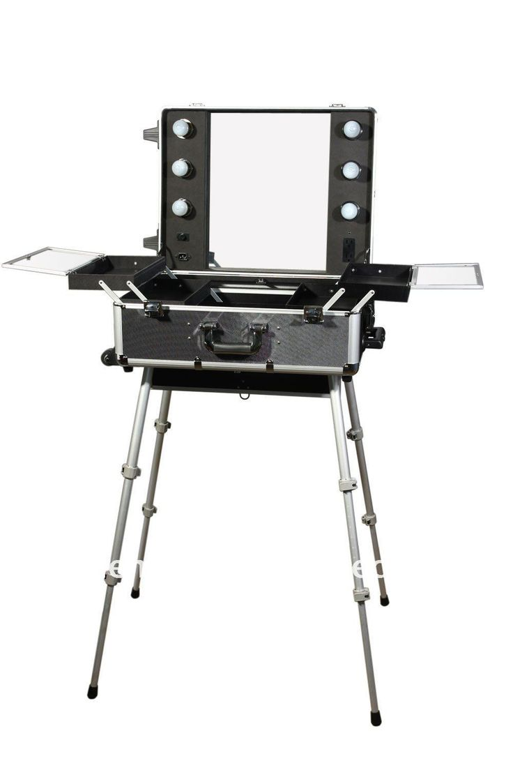 Lovely 100%Quality Guarantee, Portable Makeup Station,LED Lighted, Wholesale And  Retail,