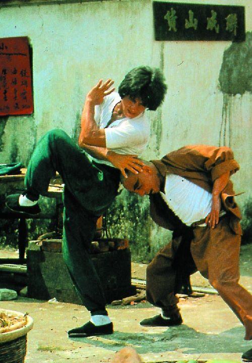 Jackie Chan in Drunken Master 1978