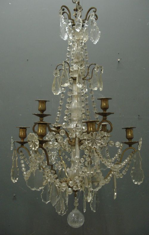43 best antique french chandeliers and wall lights images on 19th century antique french napoleon iii chandelier from jasperjacks aloadofball Images