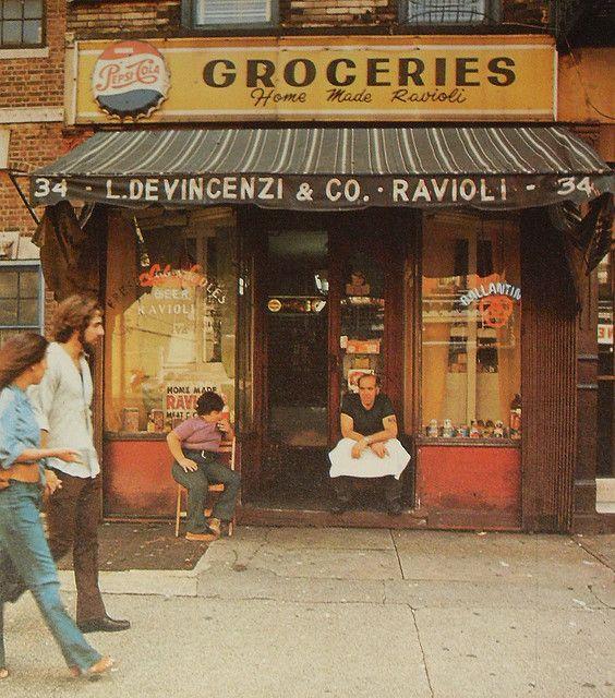 //new york city downtown 1970s | christian montone