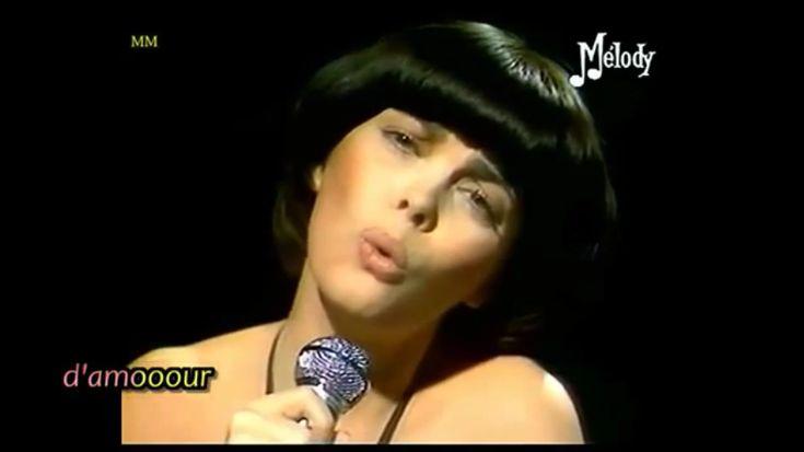 Mireille Mathieu Un dernier mot damour avec lyrics 1978 - YouTube