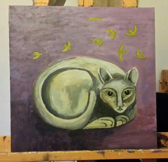 Kattdrömmar