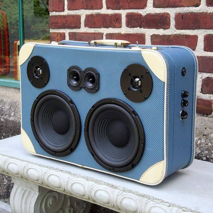 38 best DIY : Suitcase Speakers images on Pinterest | Boombox ...