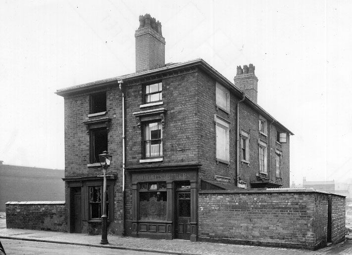 STOUR STREET, Ladywood. the outdoor standing alone with Mitchells and Butlers sign over the door.