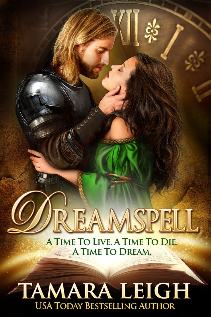 Dreamspell: A Medieval Time Travel Romance  By Tamara Leigh, Cover By  Ravven