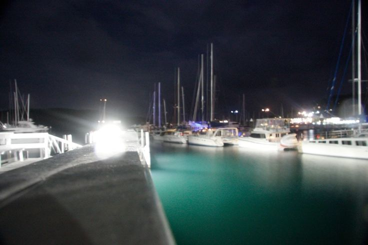 Islands by night time..