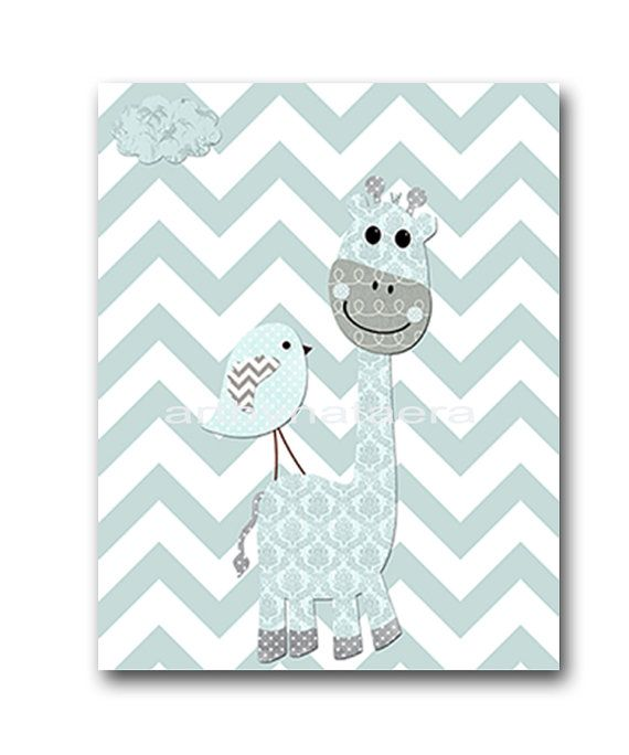 Giraffe Nursery Decor Thenurseries