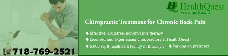 Non-invasive #ChiropracticTreatment at #HealthQuest for chronic back pain