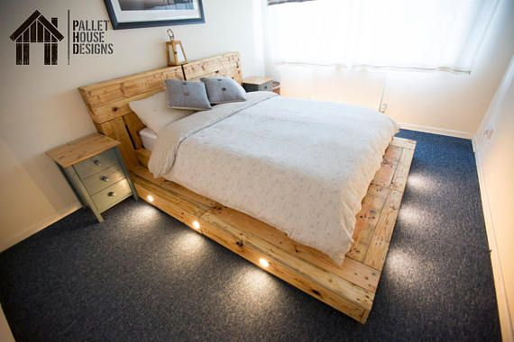Im Pleased To Bring You This Custom Built King Size Pallet Bed
