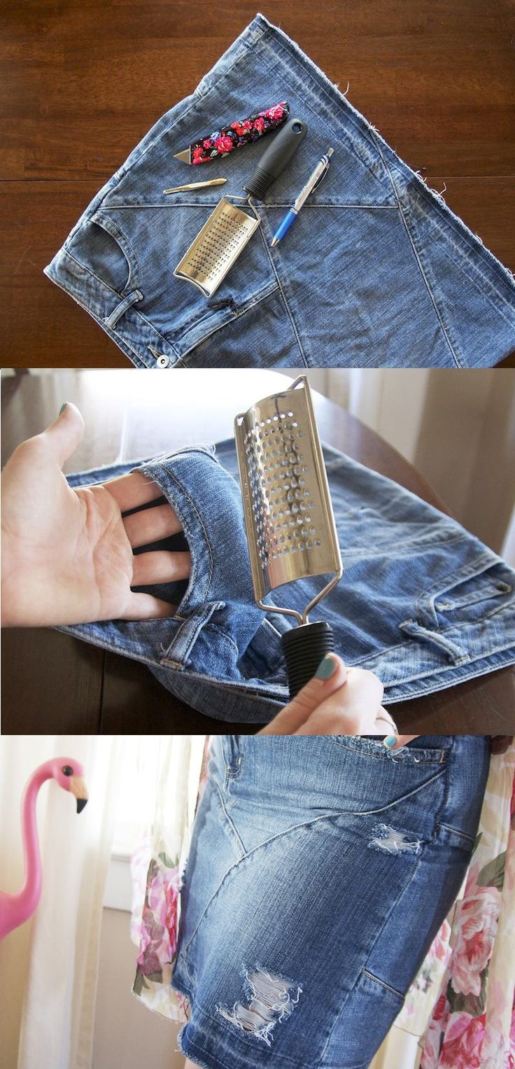 Story by ModCloth teaches you how to shred... your denim, that is! #DIY