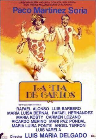 La tía de Carlos 1982- Con Paco Martínez Soria,  Luis Barbero,  María Luisa Bernal,  Rafael Alonso
