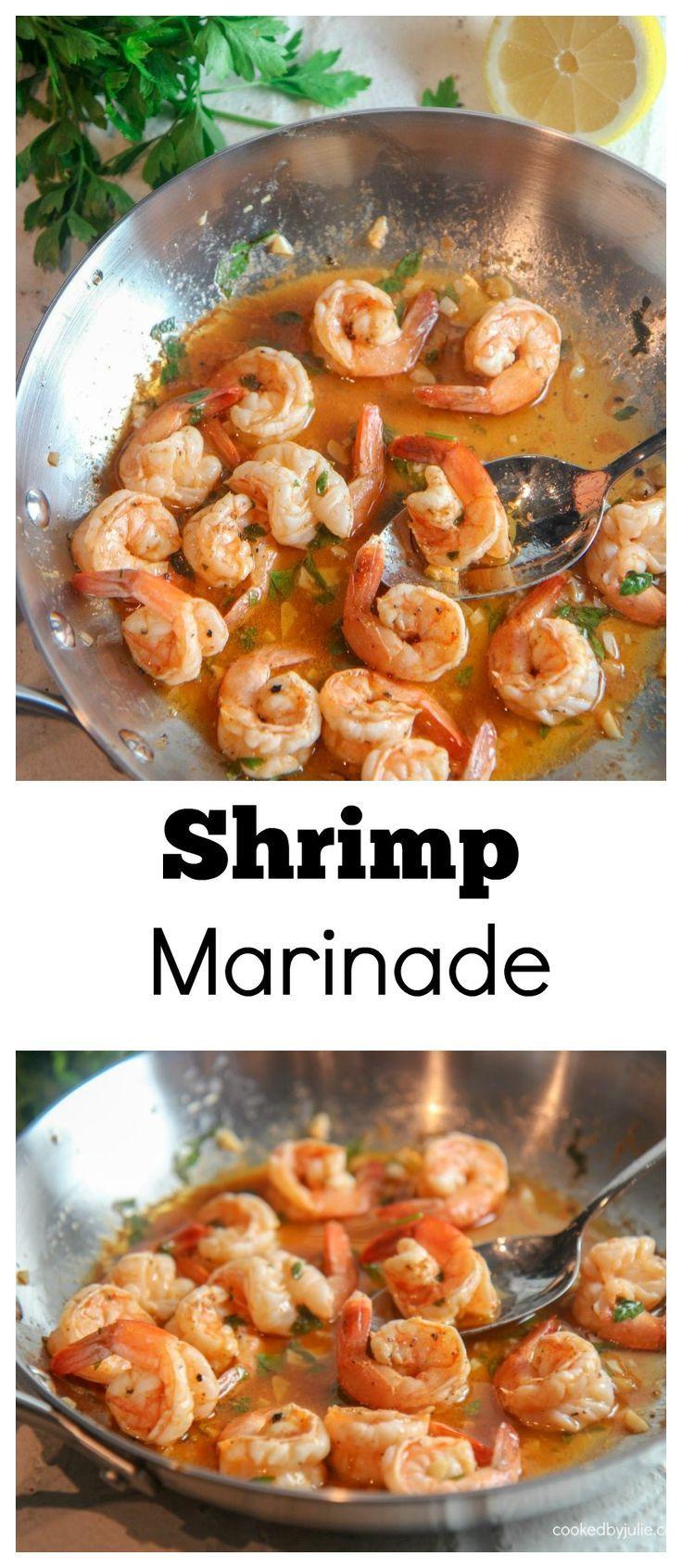 Low Carb Shrimp Marinade