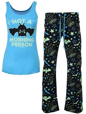 David & Goliath Morning Person Ladies PJ Set