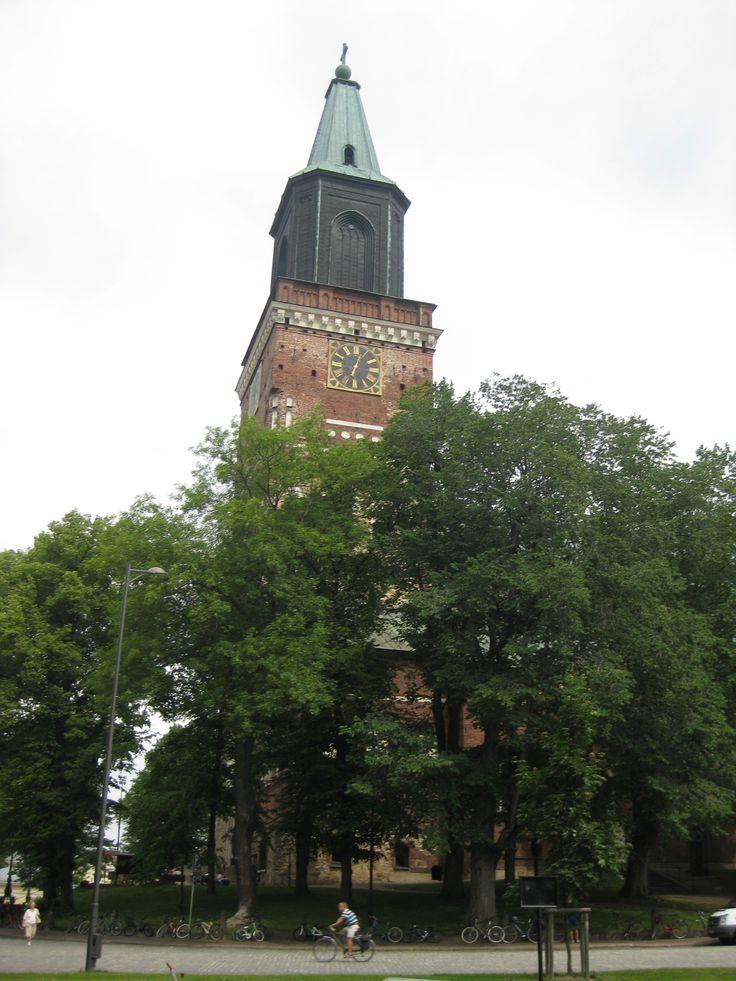 Turun tuomiokirkko, Turku, Suomi.