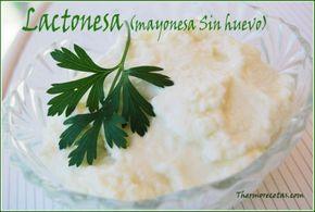 Lactonesa (mayonesa sin huevo) Thermomix