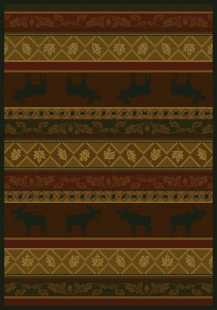 Moose Lodge Area Rug