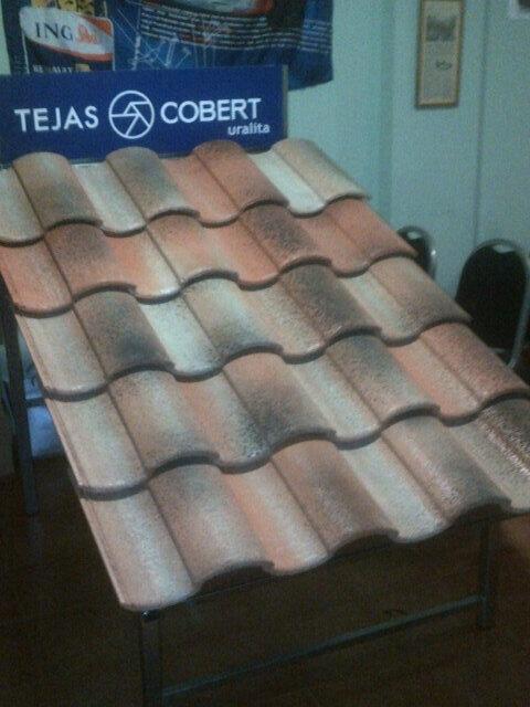 Cobert H-Compact Concrete Roof tile. Medievo finish. Tilevolution  2013