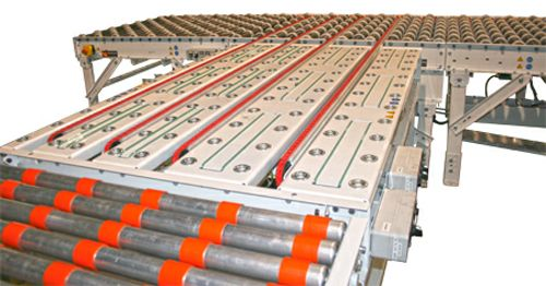 Solar Handling Vertical Accumulator