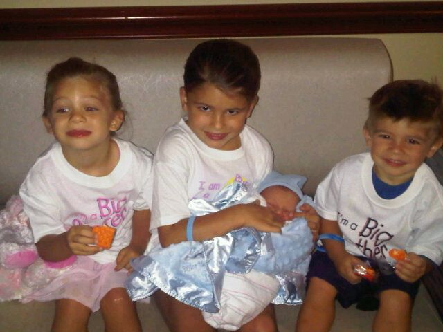 The children of Charlie Haas & Jackie Gayda: Taylor Suzanne, Kayla Jacqueline, Charlie III, & Thomas Russell