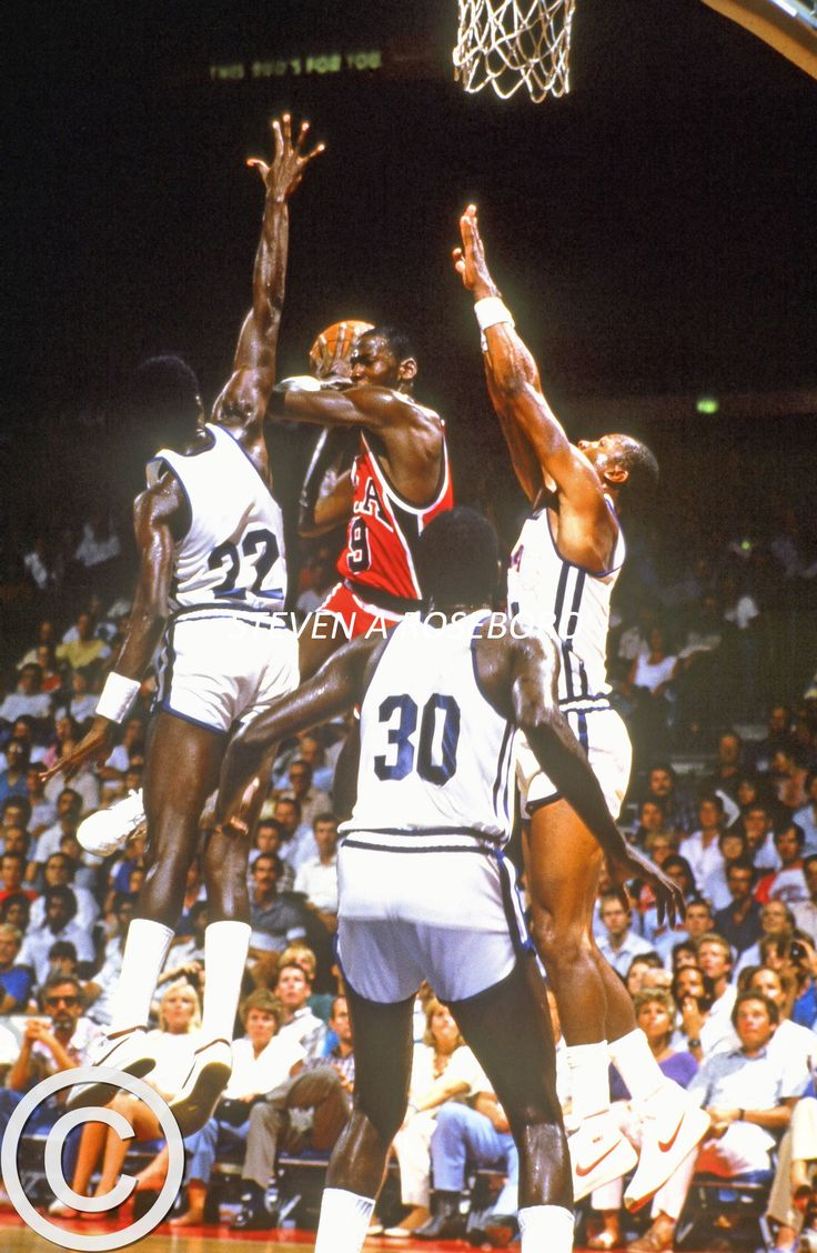 Michael Jordan 1984 Usa Basketball From The Golden Age Of Basketball, The  Nba In The