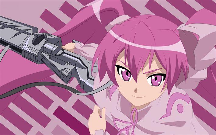 Descargar fondos de pantalla Nonon Jakuzure, Kill la Kill, Night Raid, anime, manga, Shintani Mayumi, Japonés de la serie de TV