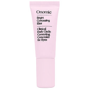 Onomie Bright Concealing Elixir Clinical Dark Circle Correcting Concealer for Eyes: This knocks out darkness—all without helping to announce my actual age.