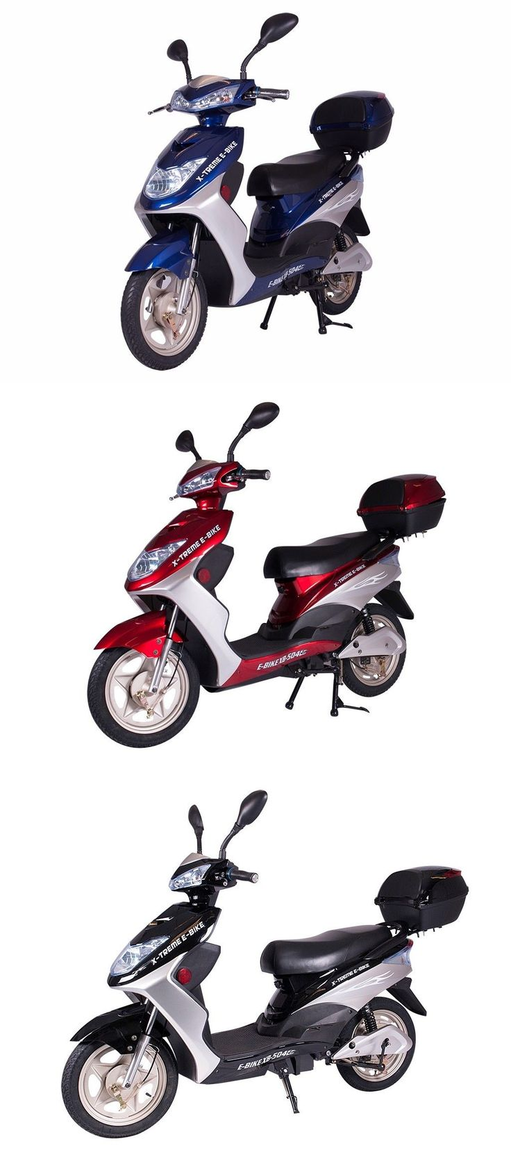 Electric scooters 47349 electric scooter moped 500 watts buy it now only