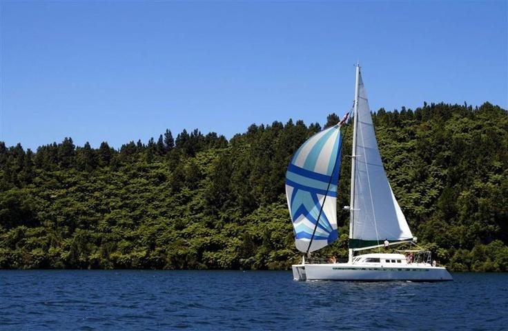 Cruise at Amora Lake Resort Okawa Bay, Rotorua  New Zealand