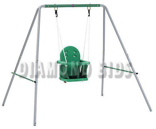 Swing-Set-Garden-Outdoor-2-in-1-Children-Kids-Children-Patio-Toddler-Fun-Play