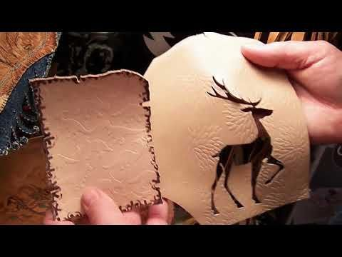 YES... YOU CAN EMBOSS LEATHER ON A SIZZIX BIG SHOT PRO! FUN & FAST DEMO ...