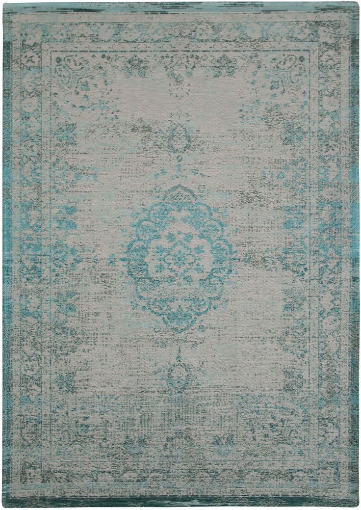 Louis De Poortere The Fading World Collection Medallion Jade Oyster 8259 Rug:  Http:/