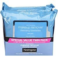 Neutrogena Makeup Removing Wipes 25 Count Twin Pac…