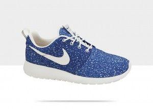 Nike Roshe Run Floral/Flower (Bloemenprint) Schoenen Dames Blauw Varen Wit  kopen. Factory Store Belgie