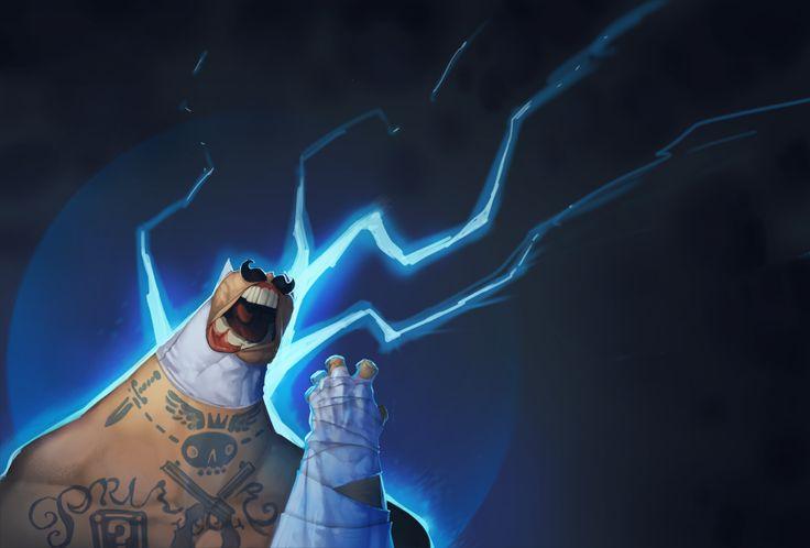 Thunder guy by Gimaldinov on deviantART