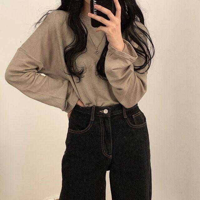 Teenage Casual Outfit Aesthetic Stylish Winter 2021 Cute Korean Amazon Instagram Highschool Ulzzang Fashion Fashion Inspo Outfits Fashion