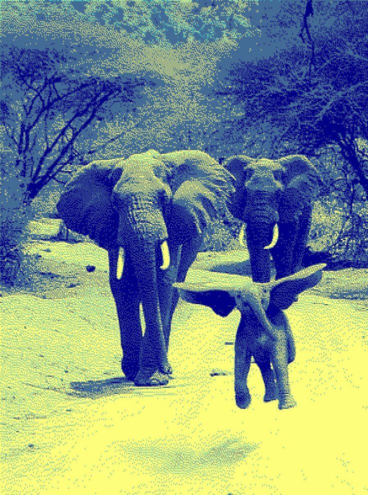 Elephant 8bit