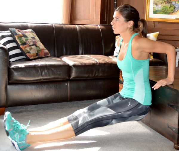 10-Minute Workout to do at the office or at home (perfect for when you need a break from sitting at your desk!)